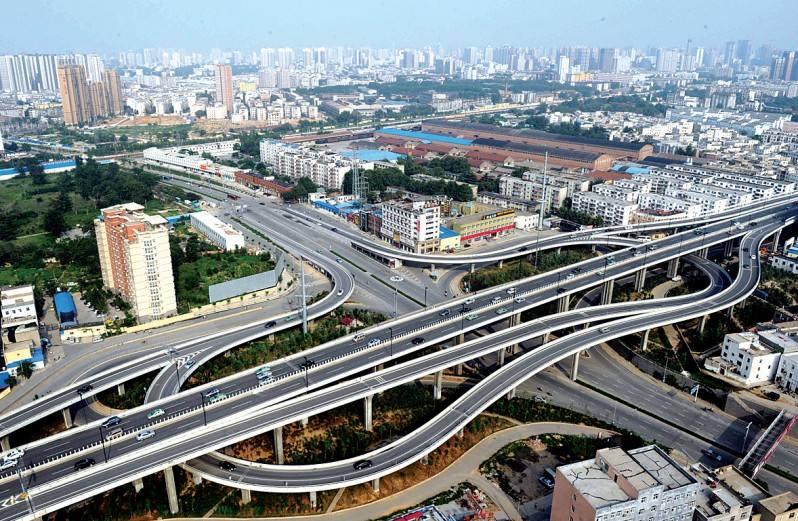 郑州农业路快速通道工程(郑州市市政基础优良工程奖)