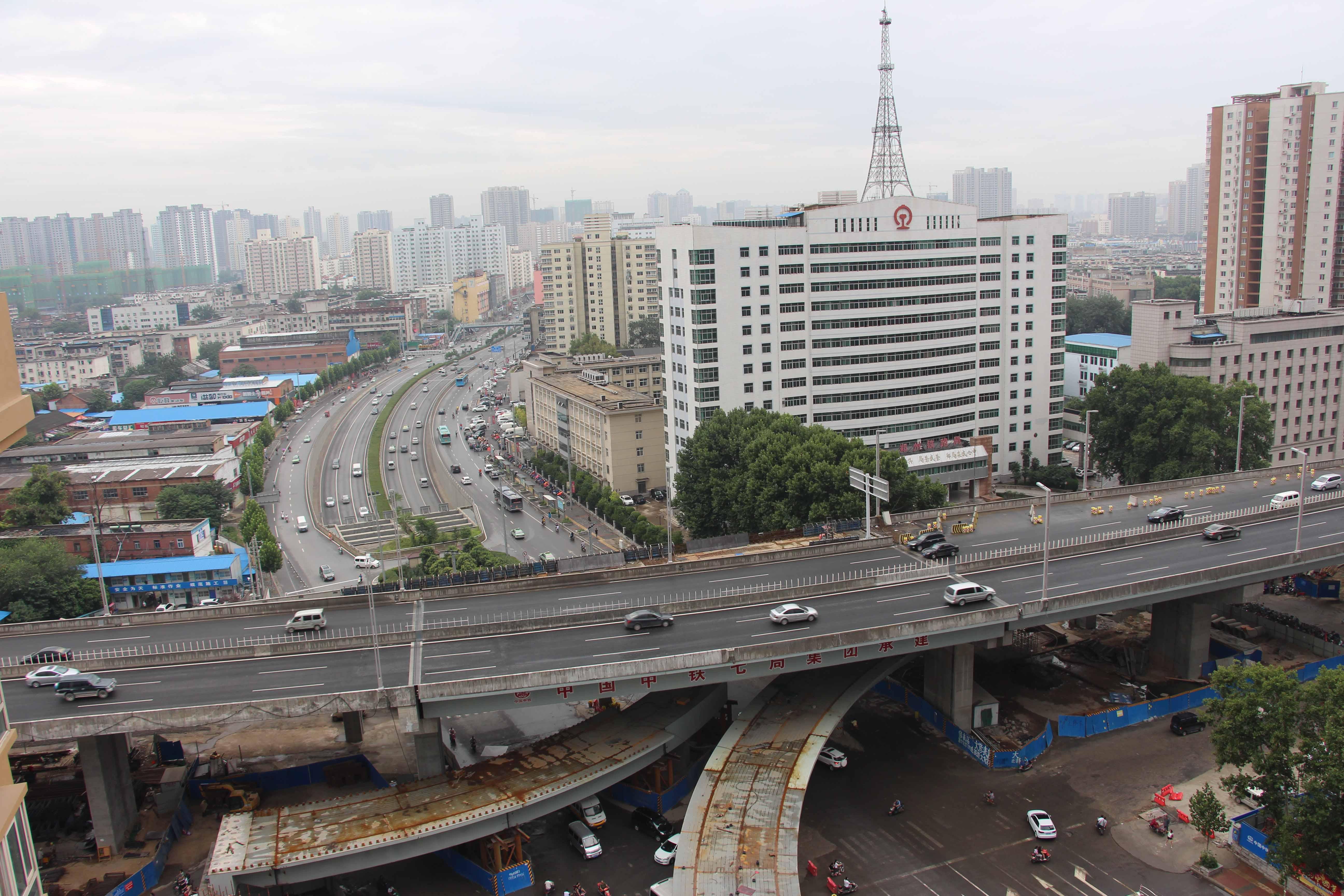 郑州陇海快速路工程(国家优质工程奖、河南市政工程金杯奖)